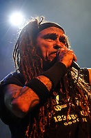 LONDON, ENGLAND - AUGUST 20: Al Jourgensen of 'Ministry' performing at The Forum on August 20, 2016 in London, England.<br /> **BEST RATES APPLY**<br /> CAP/MAR<br /> &copy;MAR/Capital Pictures /MediaPunch ***NORTH AND SOUTH AMERICAS ONLY***