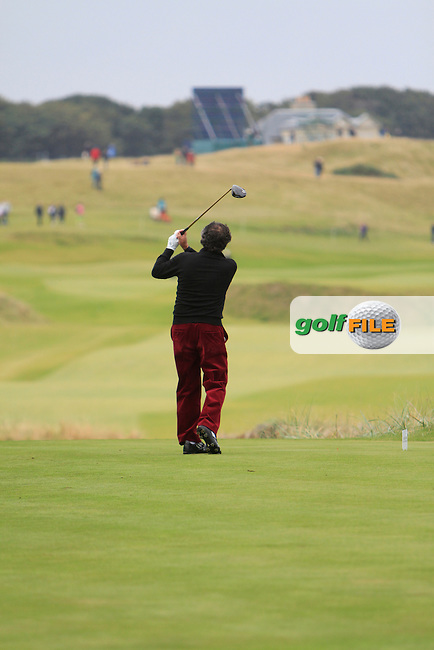 Selwyn Nathan during Round 2 of the Alfred Dunhill Links Championship at Kingsbarns Golf Club on Friday 27th September 2013.<br /> Picture:  Thos Caffrey / www.golffile.ie