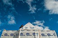 Amish carpenters rebuild a home destroyed in a violent summer storm.