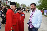 Nick Knowles<br /> at the Chelsea Flower Show 2018, London<br /> <br /> ©Ash Knotek  D3402  21/05/2018