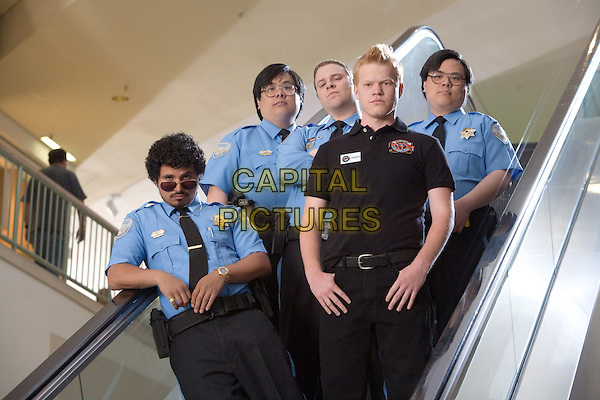 MICHAEL PENA, JOHN YUAN, SETH ROGEN, JESSE PLEMONS & MATT YUAN.in Observe and Report .*Filmstill - Editorial Use Only*.CAP/FB.Supplied by Capital Pictures.