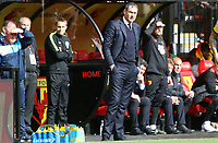 Swansea City manager Paul Clement during the Premier League match between Watford and Swansea City at Vicarage Road Stadium, Watford, England, UK. Saturday 15 April 2017