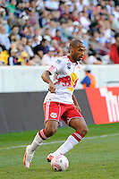 Thierry Henry (14) of the New York Red Bulls. The New York Red Bulls and Real Salt Lake played to a 0-0 tie during a Major League Soccer (MLS) match at Red Bull Arena in Harrison, NJ, on October 09, 2010.