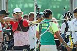 Takaharu Furukawa (JPN), <br /> AUGUST 5, 2016 - Archery : <br /> Men's Individual Ranking Round <br /> at Sambodromo<br /> during the Rio 2016 Olympic Games in Rio de Janeiro, Brazil. <br /> (Photo by Koji Aoki/AFLO SPORT)