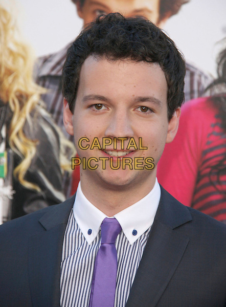 "GAELEN CONNELL .""Bandslam"" World Premiere held at Mann Village Theater, .Westwood, CA, USA, .6th August 2009..portrait headshot purple tie .CAP/ADM/CH.©Charles Harris/AdMedia/Capital Pictures"