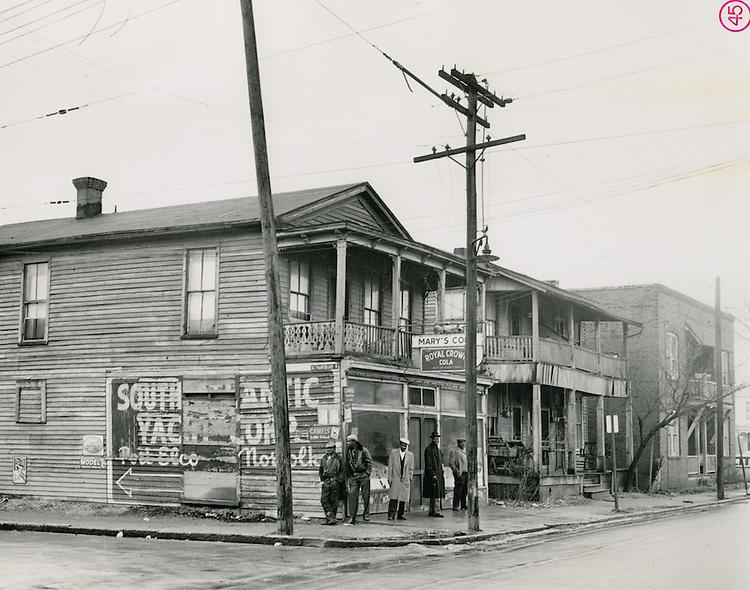 1957 February 04.Redevelopment..Atlantic City (R-1)..Southampton Avenue W..McIntosh Studio.NEG#57-20.NRHA#3749..