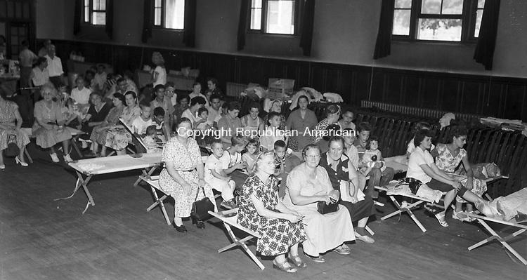Evacuation at St. Joseph's School in Waterbury.