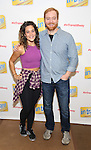 Gerianne Perez and David Abeles attend the photo Call for 'InTransit' at The New 42nd Street Studios on October 27, 2016 in New York City.
