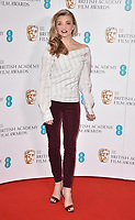 Natalie Dormer at the EE British Academy Film Awards (BAFTAs) Nominations Announcement, BAFTA, Piccadilly, London, England, UK, on Tuesday 09 January 2018.<br /> CAP/CAN<br /> &copy;CAN/Capital Pictures