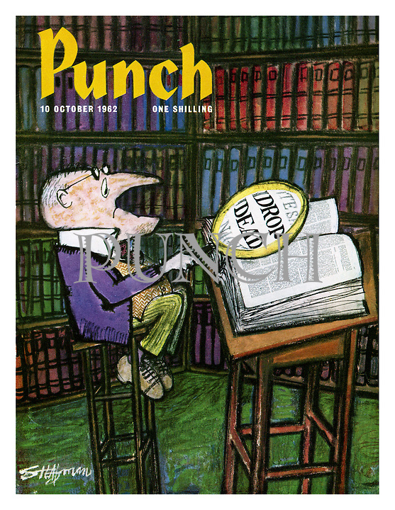 Punch cover 10 October 1962