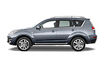 Driver side profile view of a 2007 - 2012 Citroen C-CROSSER Exclusive  SUV 4WD