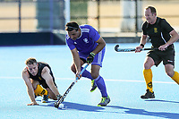 Auckland v Wellington M40. 2020 National Masters Hockey Tournament at Nga Puna Wai Sports Hub in Christchurch, New Zealand on Sunday, 23 February 2020. Photo: Simon Watts / bwmedia.co.nz