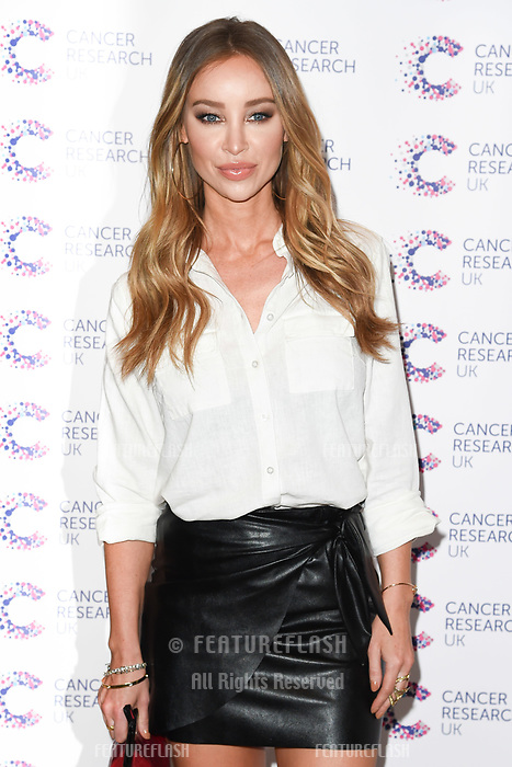 Lauren Pope arriving at James Ingham&rsquo;s Jog On to Cancer, in aid of Cancer Research UK at The Roof Gardens in Kensington, London.  <br /> 12 April  2017<br /> Picture: Steve Vas/Featureflash/SilverHub 0208 004 5359 sales@silverhubmedia.com