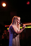 Sophia Anne Caruso performing on stage at 'Tis The Season Jamie deRoy & Friends Holiday Show' at the Birdland on December 11, 2017 in New York City.