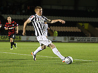 Jon Robertson in the St Mirren v Ayr United Scottish Communities League Cup match played at St Mirren Park, Paisley on 29.8.12.