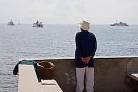 Europe/France/Provence-Alpes-Côte d'Azur/06/Alpes-Maritimes/Saint-Jean-Cap-Ferrat: Estivante et Yachts