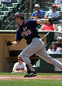 July 14, 2003:  Kelly Dransfeldt of the Pawtucket Red Sox, Class-AAA affiliate of the Boston Red Sox, during a International League game at Frontier Field in Rochester, NY.  Photo by:  Mike Janes/Four Seam Images