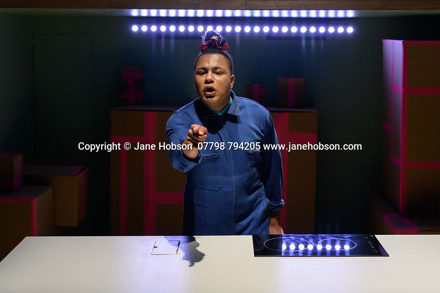 BURGERZ by Travis Alabanza, opens at the Traverse Theatre, as part of the Edinburgh Festival Fringe. The director is Sam Curtis Lindsay, with design by Soutra Gilmour, sound design by XANA, and lighting design by Lee Curran and Lauren Woodhead. Performed by: Travis Alabanza.