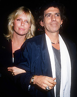 Patti Hansen, Keith Richards,1988, Photo By Michael Ferguson/PHOTOlink