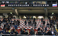 Leere Plätze bei Deutschland gegen Russland - 15.11.2018: Deutschland vs. Russland, Red Bull Arena Leipzig, Freundschaftsspiel DISCLAIMER: DFB regulations prohibit any use of photographs as image sequences and/or quasi-video.