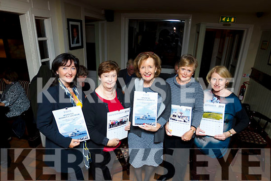 Attending the launch of the Spa Fenit Hospice 2018 calendar in the Tankard bar on Friday night last are, Bernedette Daly, Ann Kearney, Marie McSwiney, Mary O'Sullivan and Mary Jo Staunton.