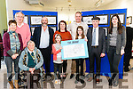"Martin Carey at the launch of his new book of cartoons entitled ""The Hahah"" in the Killarney's Library last Saturday. Pictured with l-r Breda Hughes, cllr Michael Gleeson, Mary Hughes, Danny Healy Rae TD, Holly, Tina and Hazel Carey, Michael Healy Rae TD and cllr Maura Healy Rae."