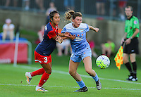 Boyds, MD - Saturday July 09, 2016: Caprice Dydasco, Arin Gilliland during a regular season National Women's Soccer League (NWSL) match between the Washington Spirit and the Chicago Red Stars at Maureen Hendricks Field, Maryland SoccerPlex.