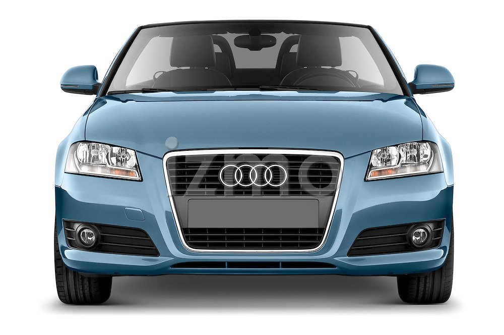 Straight front view of a 2003 - 2012 Audi A3 Attraction 2-Door Convertible.