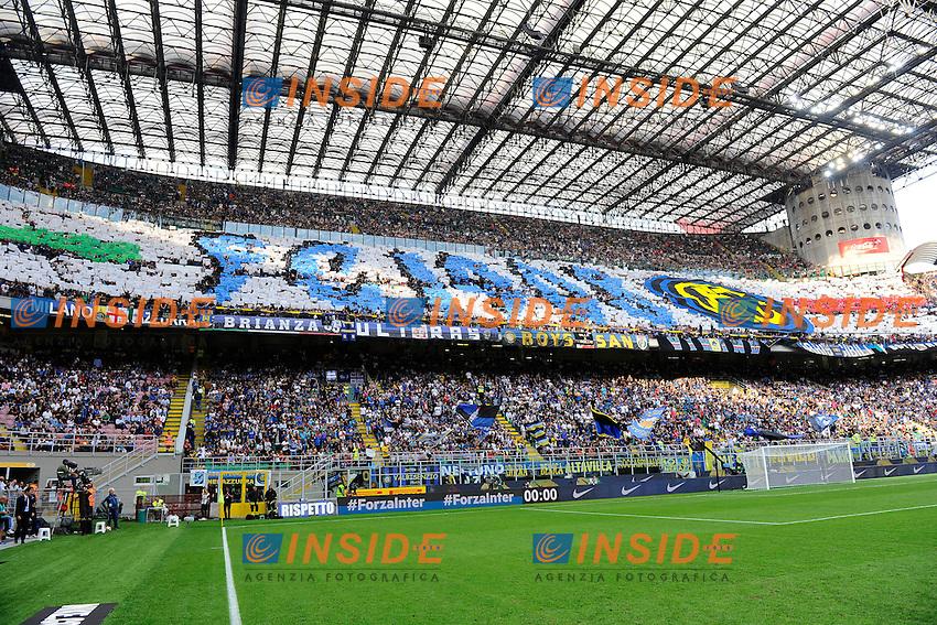 Coreografia tifosi Inter, supporters<br /> Milano 18-09-2016 Stadio Giuseppe Meazza - Football Calcio Serie A Inter - Juventus. Foto Giuseppe Celeste / Insidefoto