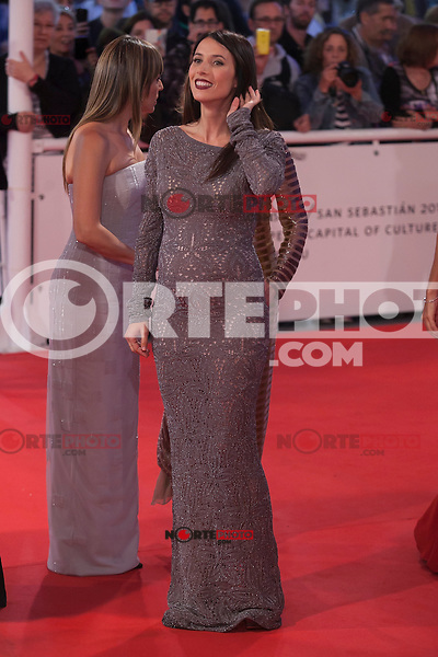 Spanish actress Barbara Goenaga poses before 63rd Donostia Zinemaldia opening ceremony (San Sebastian International Film Festival) in San Sebastian, Spain. September 18, 2015. (ALTERPHOTOS/Victor Blanco) /NortePhoto.com