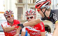 David Moncoutie before the stage of La Vuelta 2012 between Andorra  and Barcelona.August 26,2012. (ALTERPHOTOS/Paola Otero) /NortePhoto.com<br /> <br /> **CREDITO*OBLIGATORIO** <br /> *No*Venta*A*Terceros*<br /> *No*Sale*So*third*<br /> *** No*Se*Permite*Hacer*Archivo**<br /> *No*Sale*So*third*
