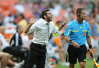 DC United head coach Ben Olsen.    Houston Dynamo tied DC United 2-2, at RFK Stadium, Saturday June 25, 2011.