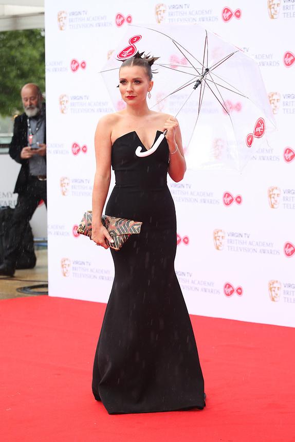 Candice Brown<br />  arriving at the Bafta Tv awards 2017. Royal Festival Hall,London  <br /> ©Ash Knotek
