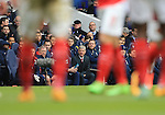 Arsenal's Arsene Wenger looks on<br /> <br /> - English Premier League - Tottenham Hotspur vs Arsenal  - White Hart Lane - London - England - 5th March 2016 - Pic David Klein/Sportimage