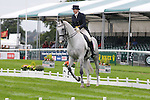 Kristi Nunnink riding R-Star during the dressage phase of the 2012 Land Rover Burghley Horse Trials in Stamford, Lincolnshire