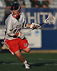 Taylor Strough #12 of Cold Spring Harbor gets in position to shoot during the NYSPHSAA varsity boys lacrosse Class C state semifinals against Pleasantville at Hofstra University on Wednesday, June 8, 2016. He scored four goals in Cold Spring Harbor's 12-10 win.