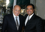 WEST HOLLYWOOD, CA. - February 08: Doug Morris, Chairman and CEO of Universal Music Group and Cedric Castro, General Manager of The Los Angeles Palm attend the Universal Music Group Chairman Doug Morris' Grammy Awards Viewing Dinner at The Palm on February 8, 2009 in West Hollywood, California.