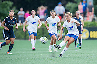 Allston, MA - Sunday July 17, 2016: Stephanie Verdoia during a regular season National Women's Soccer League (NWSL) match between the Boston Breakers and Sky Blue FC at Jordan Field.