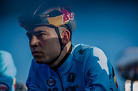 Wout Van Aert (BEL) pre race focus<br /> <br /> Men's Elite race <br /> <br /> UCI 2019 Cyclocross World Championships<br /> Bogense / Denmark<br /> <br /> <br /> ©kramon