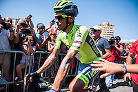 Castellon, SPAIN - SEPTEMBER 7: Alberto Contador during LA Vuelta 2016 on September 7, 2016 in Castellon, Spain
