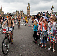 13.06.2015 - World Naked Bike Ride - London 2015 #WNBRLondon