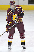 Adam Welch - The Boston College Eagles and Ferris State Bulldogs tied at 3 in the opening game of the Denver Cup on Friday, December 30, 2005, at Magness Arena in Denver, Colorado.  Boston College won the shootout to determine which team would advance to the Final.