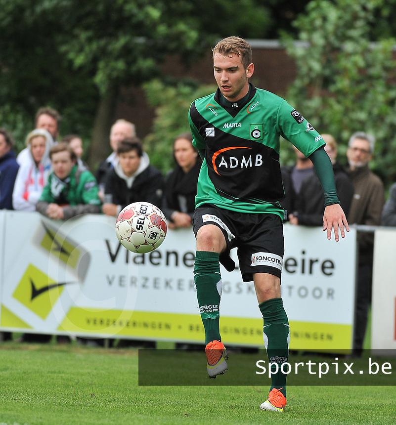 SVV Damme - Cercle Brugge : Stephen Buyl <br /> foto VDB / Bart Vandenbroucke