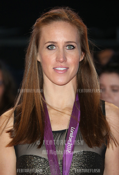"Helen Glover arriving for the ""The Twilight Saga: Breaking Dawn Part 2"" premiere at the Odeon Leicester Square, London. 14/11/2012 Picture by: Henry Harris / Featureflash"