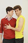 Nick Lewis, Josh Davis - Empire The Series films on set June 3, 2012  in Brooklyn, New York. (Photo by Sue Coflin/Max Photos)
