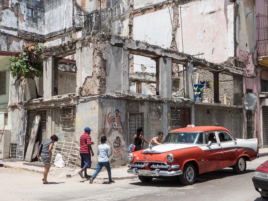 1956 Dodge taxi in Old Havana