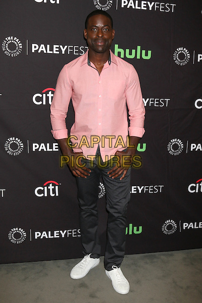 BEVERLY HILLS, CA - SEPTEMBER 13: Sterling K. Brown at the PaleyFest 2016 Fall TV Preview featuring NBC at the Paley Center For Media in Beverly Hills, California on September 13, 2016. <br /> CAP/MPI/DE<br /> &copy;DE/MPI/Capital Pictures