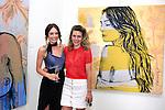 SANTA MONICA - JUN 25: Mallory Jansen, Hope Watson at the David Bromley LA Women Art Exhibition opening reception at the Andrew Weiss Gallery on June 25, 2016 in Santa Monica, California