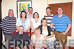 Ann Cronin Killarney celebrates her 60th birthday with her family in Lord Kenmares restaurant Sunday night front l-r: Patrick, Ann, Siobhain. Back row Patrick, Mary, Eugene, Aine, John and Denis Cronin   Copyright Kerry's Eye 2008