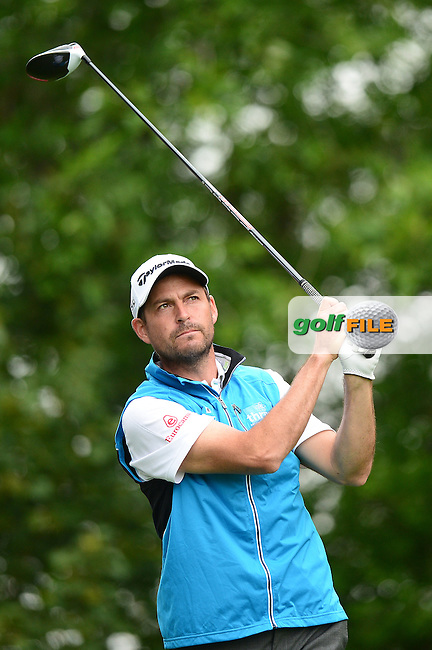 David Howell of England during Round 4 of the Lyoness Open, Diamond Country Club, Atzenbrugg, Austria. 12/06/2016<br /> Picture: Richard Martin-Roberts / Golffile<br /> <br /> All photos usage must carry mandatory copyright credit (&copy; Golffile | Richard Martin- Roberts)